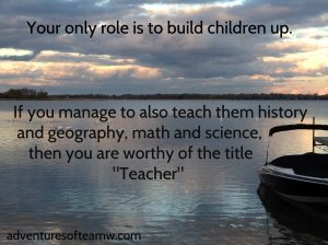 Build up our children